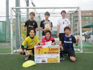 準優勝◆蹴球2日制